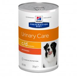 Veterinārie konservi suņiem - Hills Canine  c/d, 370g