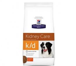 Veterinārā barība suņiem - Hill's Canine k/d, 2 kg