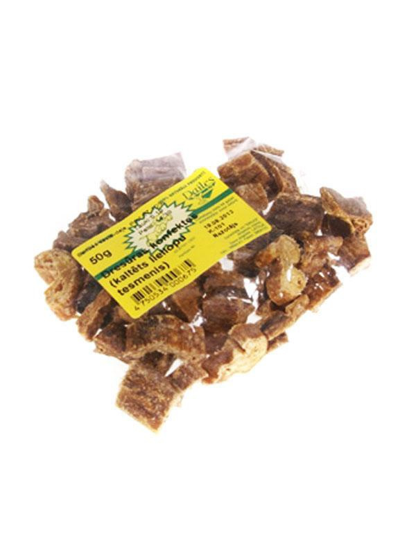 Dresūras konfektes Dailes - Kaltēts liellopu tesmenis 50 g