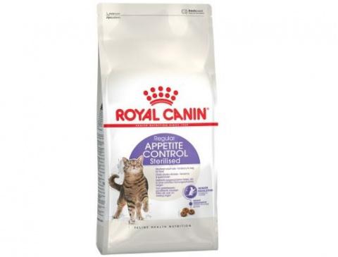 Barība kaķiem - Royal Canin Feline Sterilised Appetite Control, 2 kg