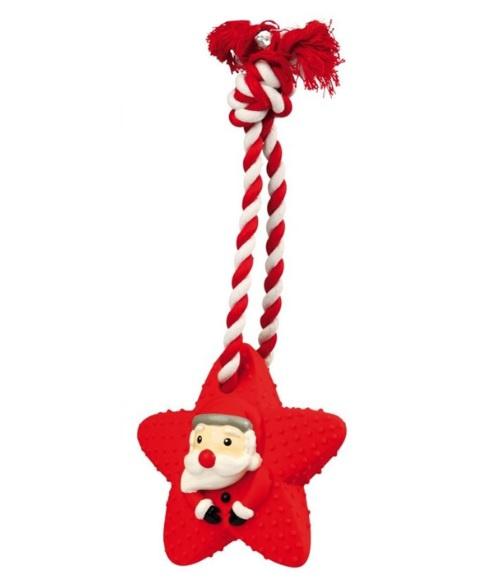 Rotaļlieta suņiem - Trixie zvajgzne uz virves. 33 cm