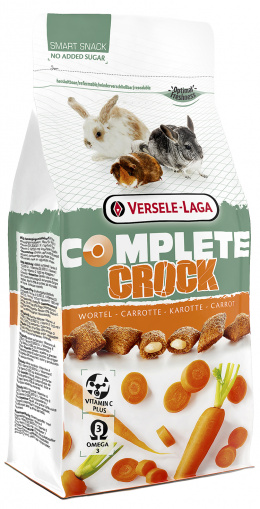 Лакомство для грызунов – Versele-Laga Crock Complete Carrot, 50 г