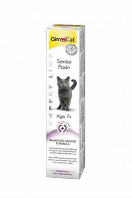 Витаминная паста для кошек - Gim Cat Expert Line Senior Paste, 50 г