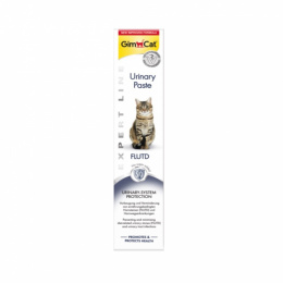Barības piedeva kaķiem - Gim Cat Expert Line Urinary Paste, 50 g