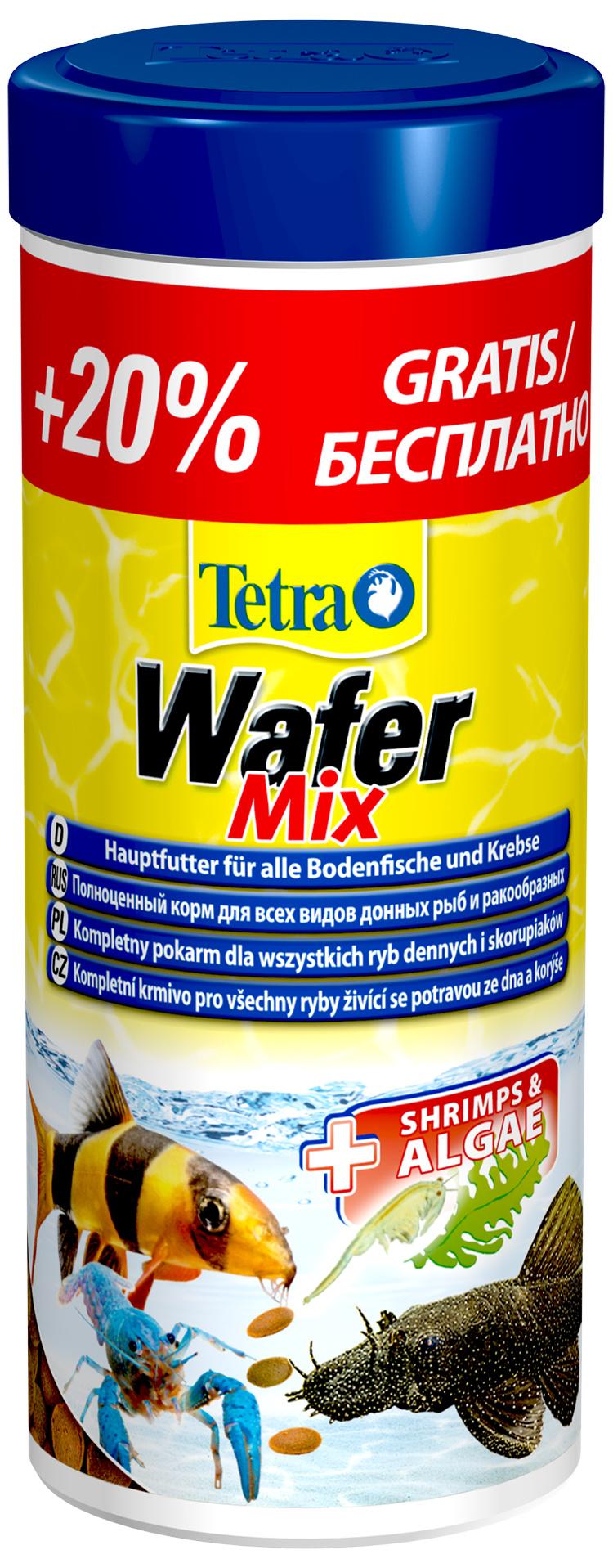 Корм для рыбок - Tetra Wafer Mix, 250 мл
