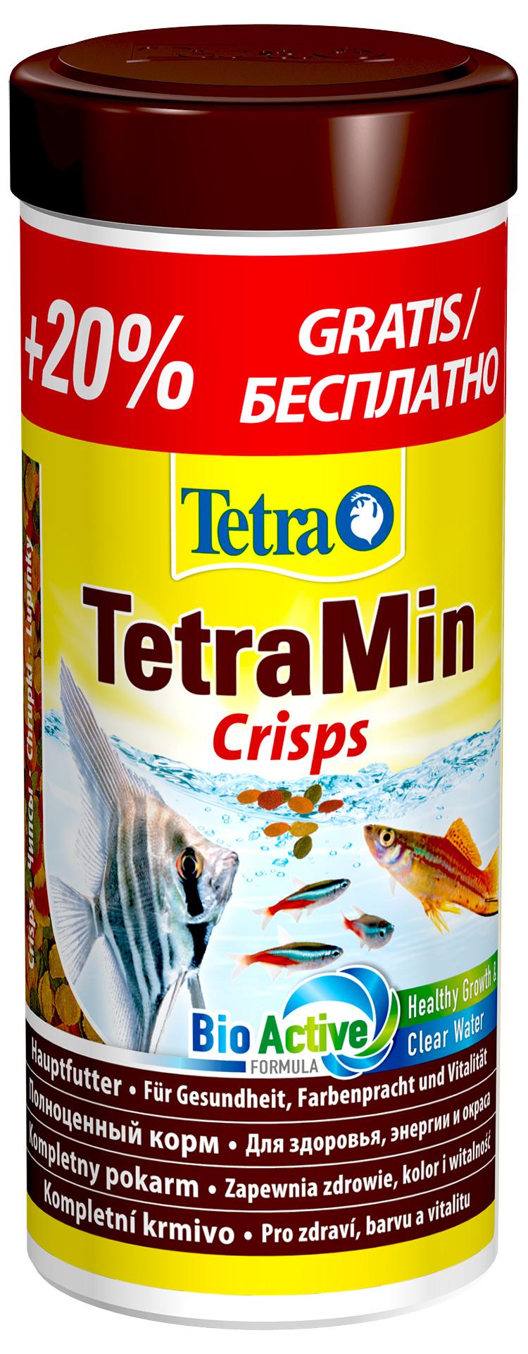 Barība zivīm - Tetra Min Crisps, 250 ml