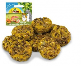 Cepumi grauzējiem - JR FARM Wholemeal Shrimp & Crab Cookies 80 g