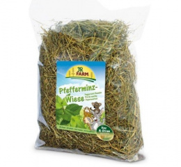 Сено для грызунов - JR FARM Meadow с мятой, 500 г