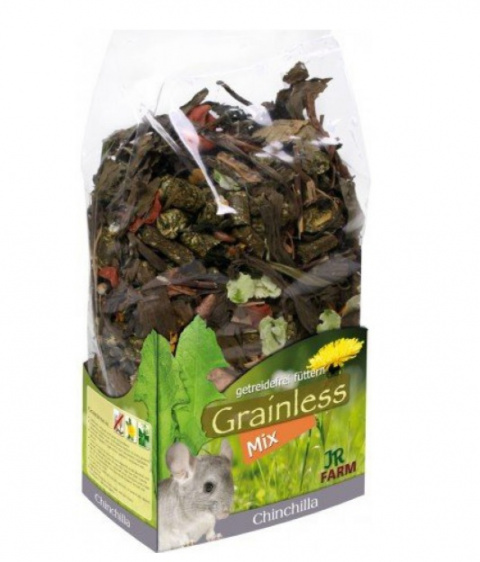Barība šinšillām - JR FARM Grainless Mix Chinchilla, 650 g