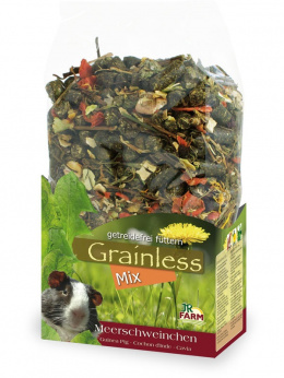 Barība jūras cūciņām - JR FARM Grainless Mix Guinea Pigs, 650 gr
