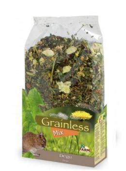 Корм для дегу - JR Farm Grainless/беззерновой корм Дегу микс, 650 г