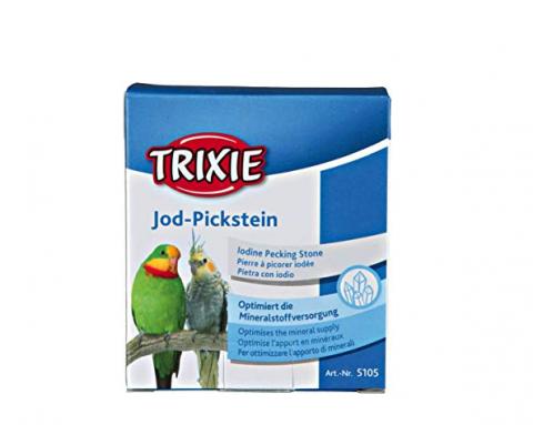 Minerālakmens putniem – TRIXIE Iodine Nibble, Large, 90 g title=