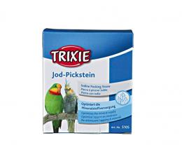 Минеральный камень для птиц - Trixie йодированный камень, 90 г