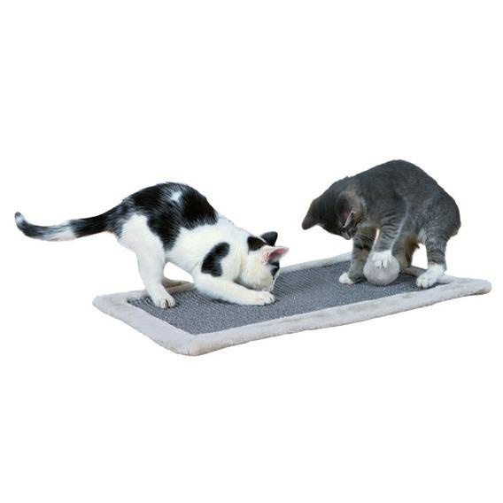 Когтеточка - Trixie Scratching Mat 55*35 cm, светло серый