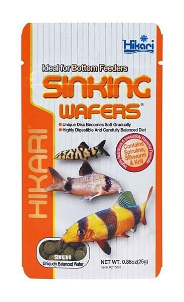 Barība zivīm - Hikari Tropical Sinking Wafers, 25 g