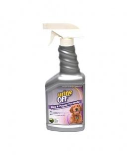 Līdzeklis telpu un traipu tīrīšanai - Veda Urine off dog and puppy, 500 ml