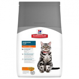 Barība kaķiem - Hill's Feline Indoor Cat, 1.5 kg