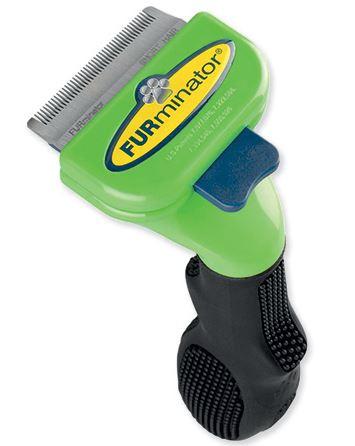 Расческа для собак - FURminator deShedding tool, hair short, S title=