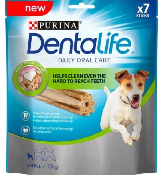 Gardums suņiem - DENTALIFE for small dog, 115 g