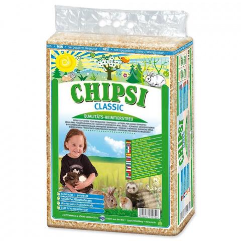 Опилки- Chipsi Classic 60 l / 3.6kg