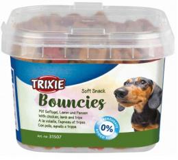 Gardums suņiem - Bouncies Soft Snack Kauliņi, 140 gr