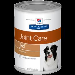 Veterinārie konservi suņiem - Hill's Canine j/d Lamb, 370 g