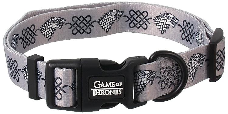 Поводок и ошейник – Game of Thrones Stark, Silver, S
