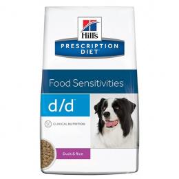 Ветеринарный корм для собак - Hill's Canine d/d Duck&Rice, 2 кг