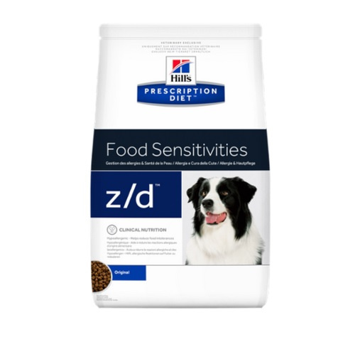 Veterinārā barība suņiem - Hill's Canine z/d Ultra, 3 kg title=