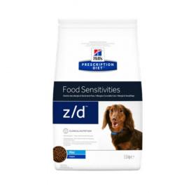 Veterinārā barība suņiem - Hill's Canine z/d mini, 1,5 kg