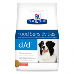 Ветеринарный корм для собак - Hill's Canine d/d Salmon&Rice, 5 кг