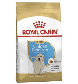 Barība kucēniem - Royal Canin SN Golden Retriever junior, 12 kg
