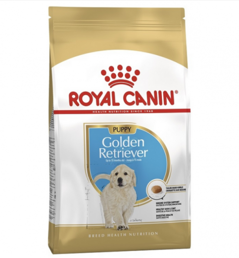 Корм для щенков - Royal Canin SN Golden Retriever Junior, 12 кг