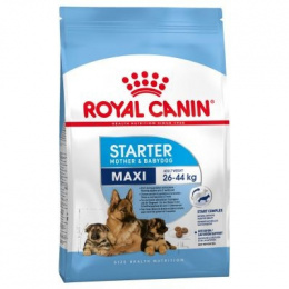 Barība grūsnām un laktējošām kucēm un kucēniem - Royal Canin Maxi Starter, 15 kg