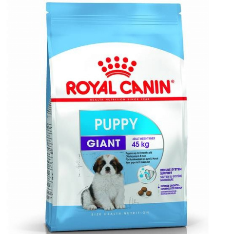 Корм для щенков - Royal Canin Giant Puppy, 4 кг