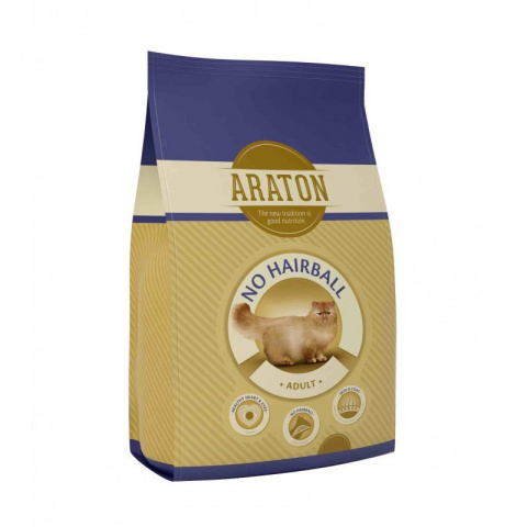 Корм для кошек - Araton Cat adult Hairball, 15 kg