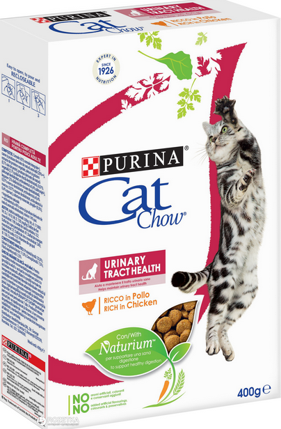Barība kaķiem - Cat Chow Urinary Tract Health, 0.4 kg