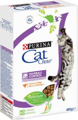 Корм для кошек - Cat Chow Hairball Control, 400 г