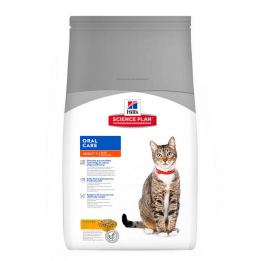 Barī­ba kaķiem - Hill's Feline Adult Oral Care, 5 kg