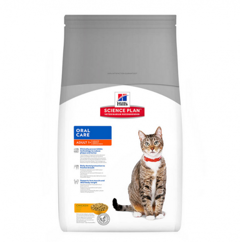 Корм для кошек - Hills Feline Adult Oral Care, 5 kg