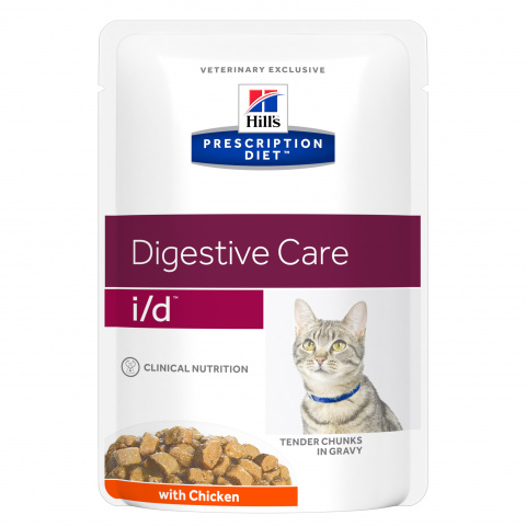 Veterinārie konservi kaķiem - Hill's Feline i/d Chicken, 85g