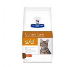 Veterinārā barība kaķiem - Hill's Feline s/d,  1.5 kg