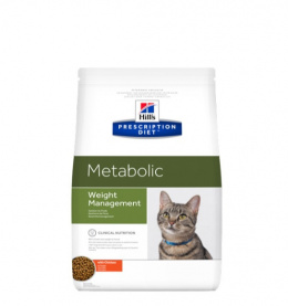 Ветеринарный корм для кошек - Hill's Feline Metabolic 1.5 кг