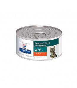 Veterinārie konservi kaķiem - Hill's Feline w/d, 156 g