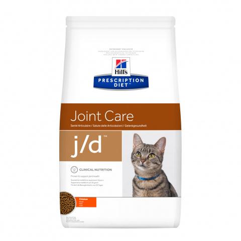 Ветеринарный корм для кошек - Hill's Feline j/d, 2 кг