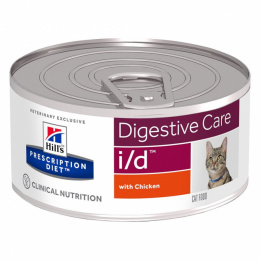 Ветеринарные консервы для кошек - Hill's Feline i/d, 156 г