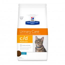 Veterinārā barība kaķiem - Hill's Feline c/d Multicare Ocean fish, 1.5 kg