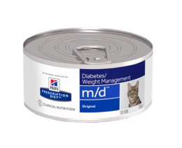 Ветеринарные консервы для кошек - Hill's Feline m/d, 156 г