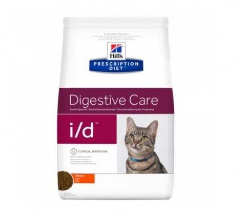 Ветеринарный корм для кошек - Hill's Feline i/d, 0,4 кг