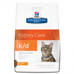 Ветеринарный корм для кошек - Hill's Feline k/d, 1.5 кг